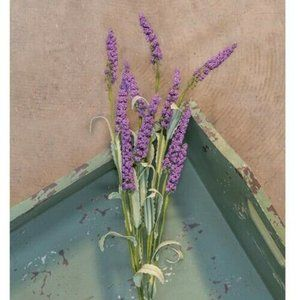 "Lavender Heather 20"" Faux Spray"